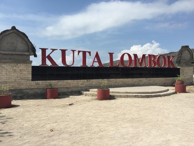 Kuta lombok beach, travel vacation.
