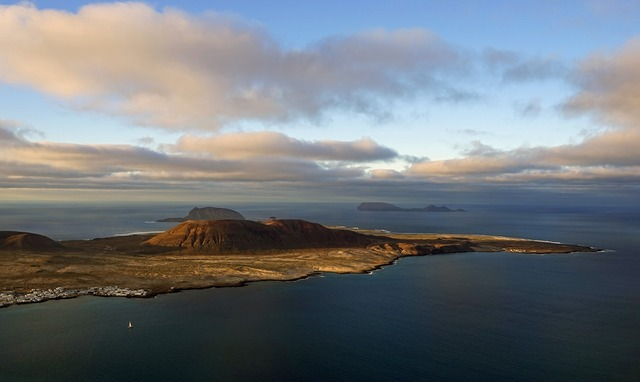 La graciosa island canary islands.