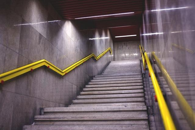 Ladder metro italy.
