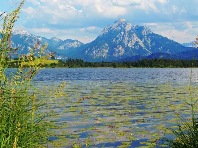Lake allgäu bavaria.