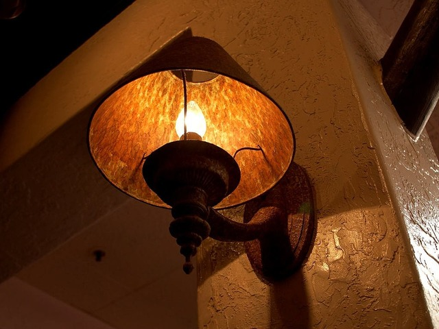 Lampshade lamp light.
