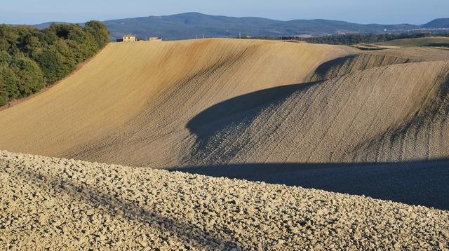 Lands of siena tuscany italy.