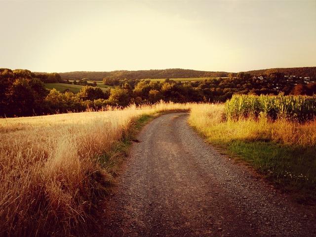 Landscape away marburg, nature landscapes.