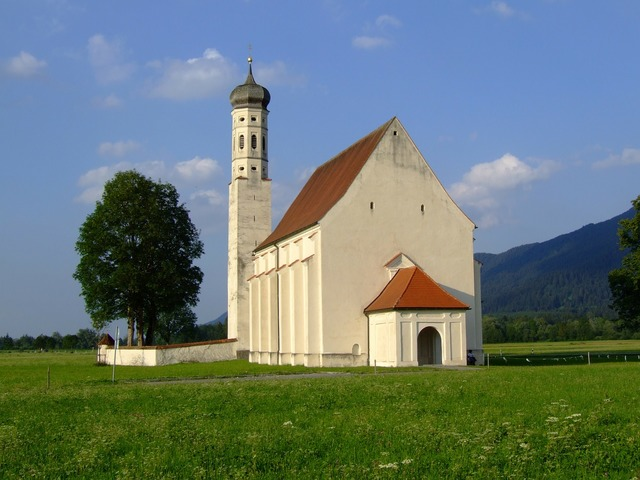 Landscape church coloman sanctuary, nature landscapes.