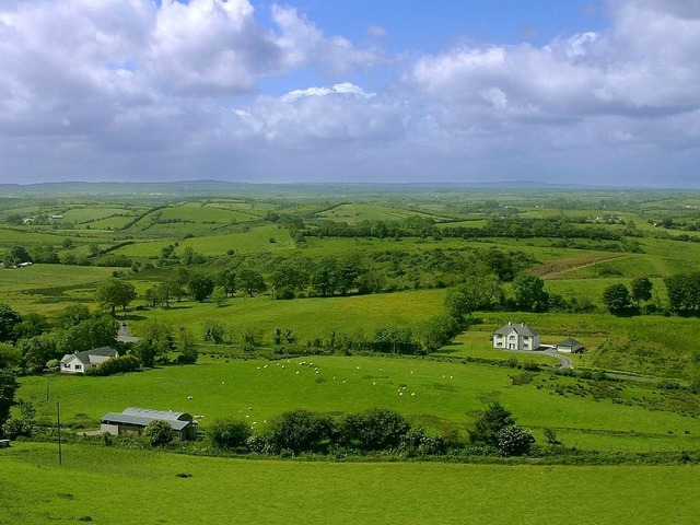 Landscape green reported, nature landscapes.