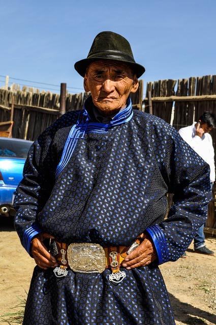Landsman mongolian costume, people.