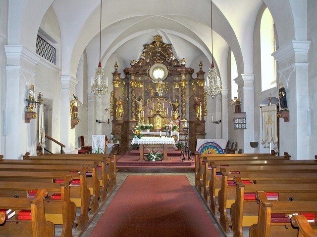 Langschlag hl stephan church, religion.