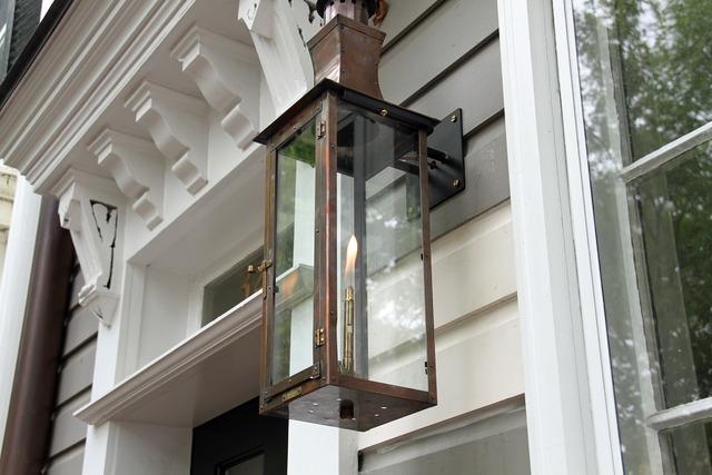 Lantern light outdoor.