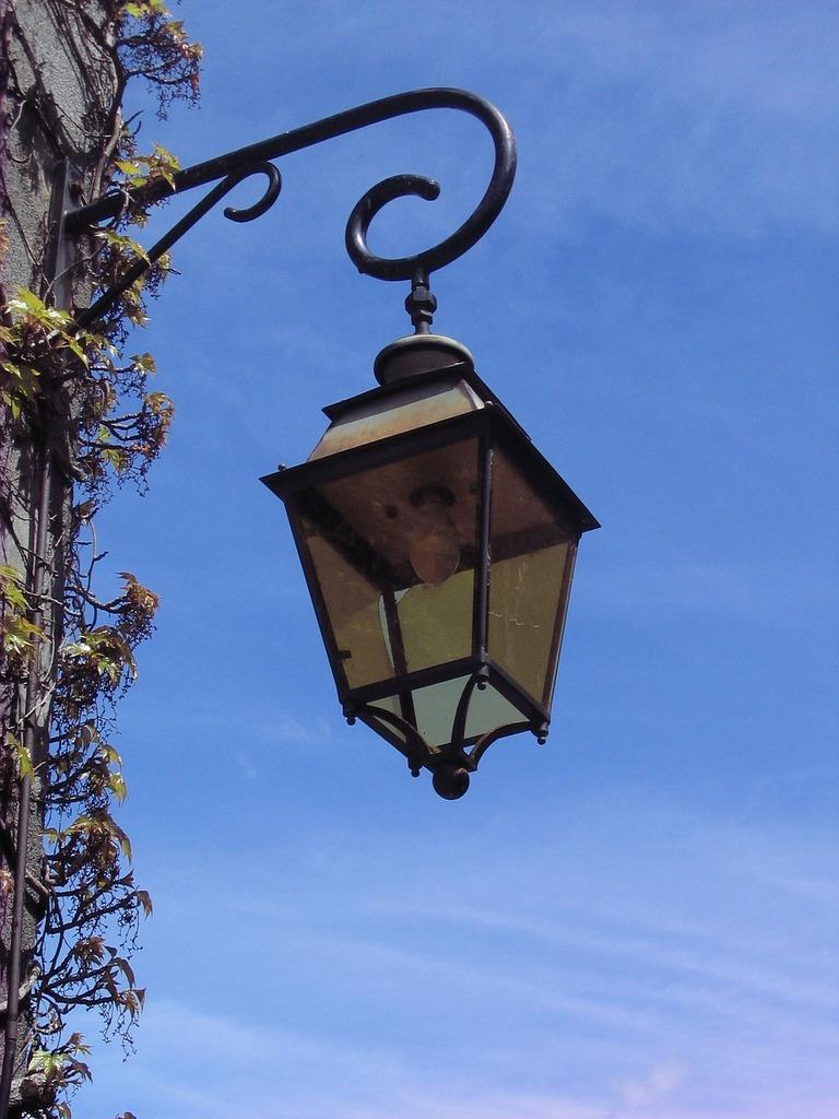 Lantern lights lamp, architecture buildings.