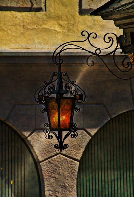 Lantern street light lighting, architecture buildings.