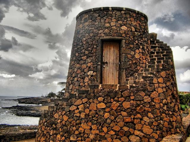 Lanzarote costa teguise stone.