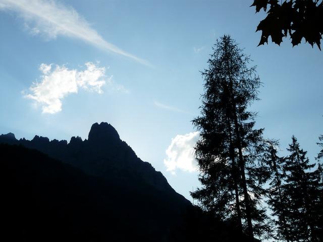 Lärcheck mountain wilderkaiser, nature landscapes.