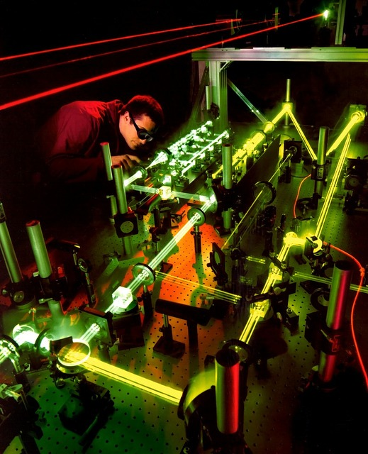Laser laser experiment light beam, science technology.