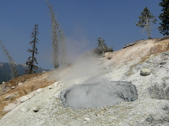 Lassen volcano national park california usa.