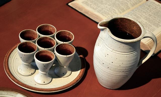 Last supper krug cup, religion.