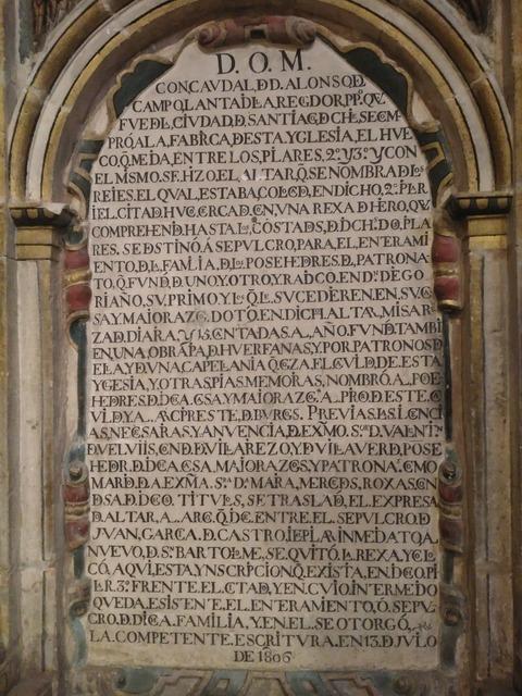 Latin church spain, religion.