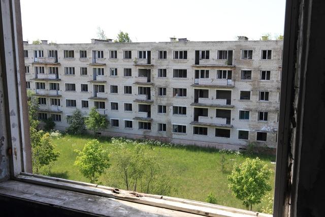 Latvia irbene residential.