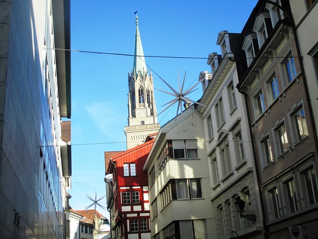 Laurenzenkirche st gallen church, religion.
