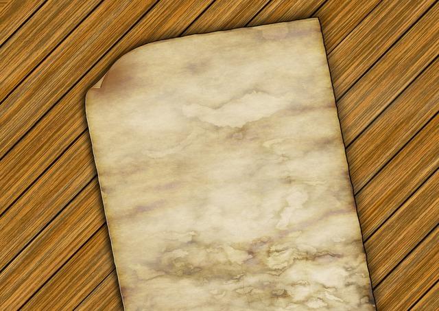 Leaf paper old.