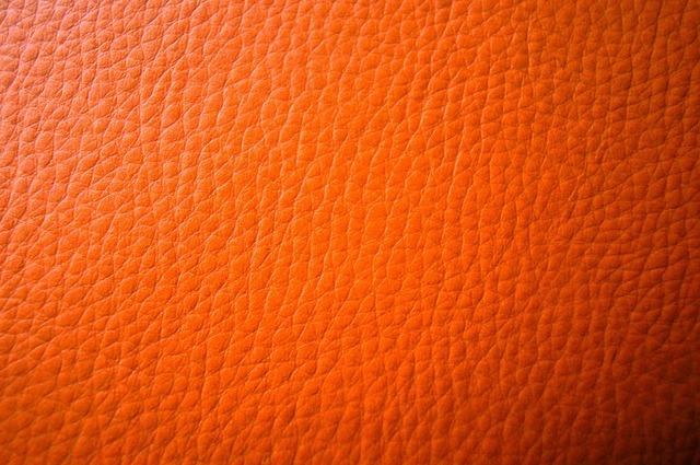 Leather orange background, backgrounds textures.