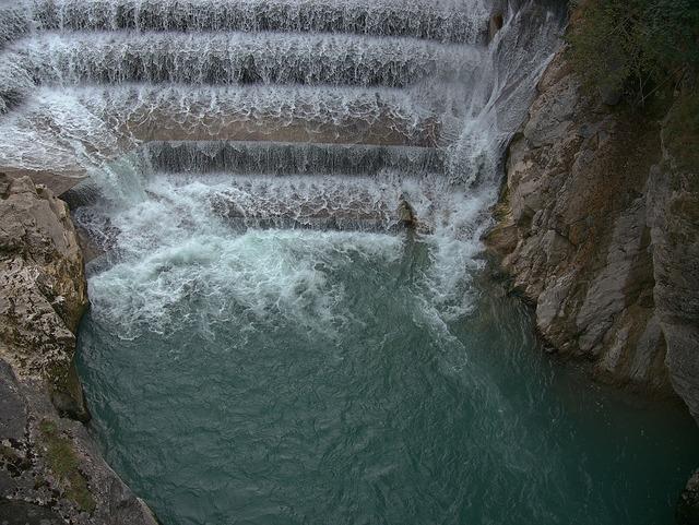 Lechfall füssen waterfall.