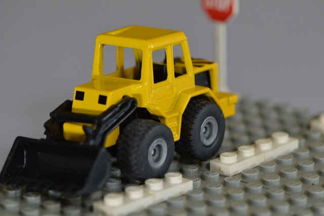 Lego children toys, transportation traffic.