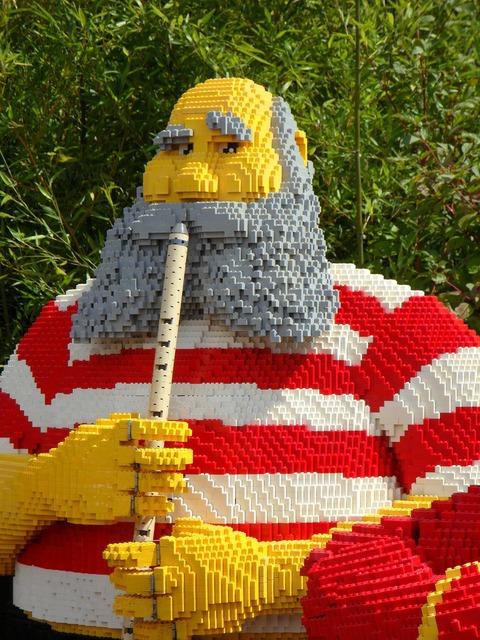 Legoland building blocks legos, music.