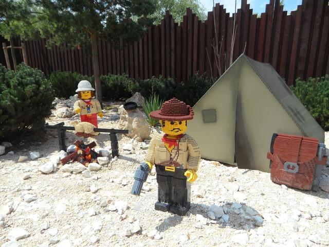 Legoland legomaennchen archaeology, science technology.