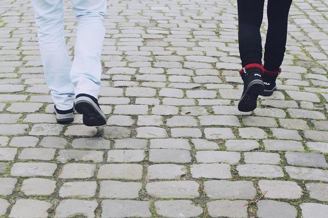 Legs feet shoes, transportation traffic.