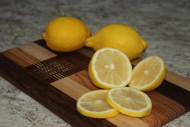 Lemons fruit fresh, food drink.