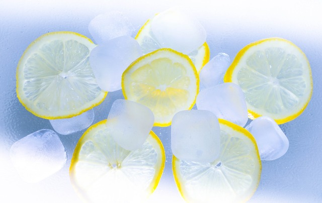 Lemons ice summer.
