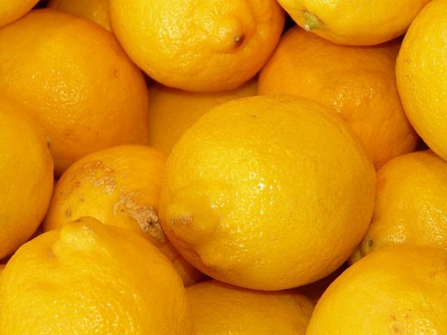 Lemons sour fruity, food drink.