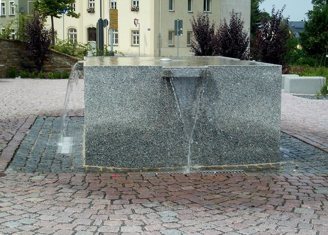 Lengenfeld ore mountains water feature.