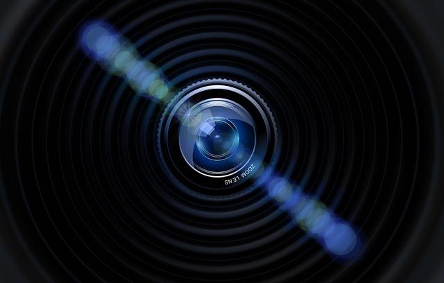Lens camera photographer, science technology.