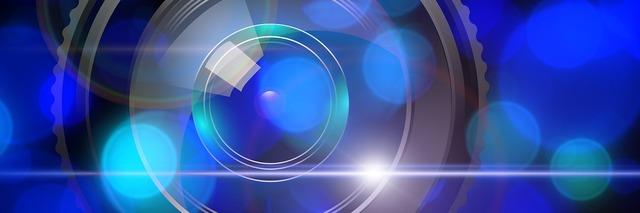 Lens lichtreflex light, computer communication.