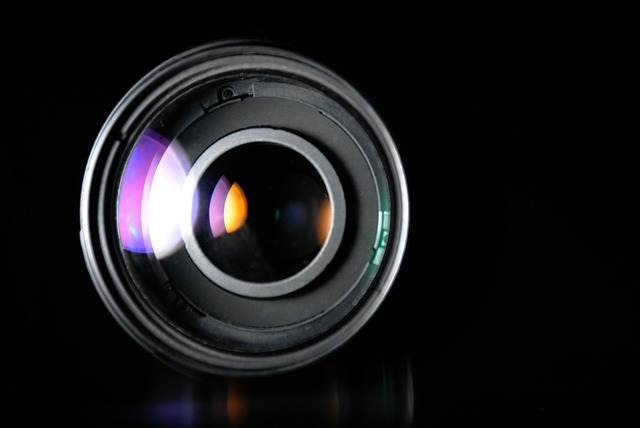 Lens photography zoom lens.