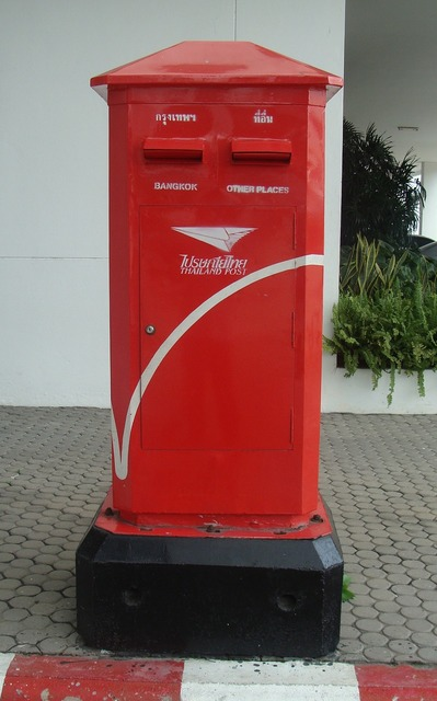 Letter box mail box mailbox.