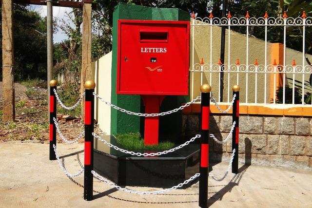 Letter box post box tv type.