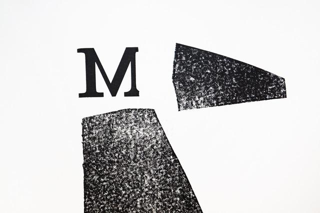Letter m lead set.