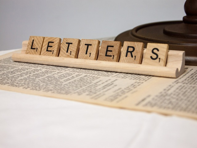 Letters word scrabble, computer communication.