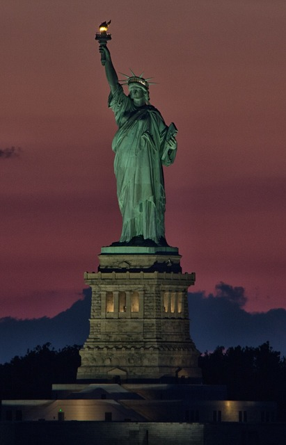 Liberty freedom lady, places monuments.