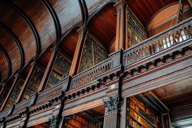 Library ireland irish, architecture buildings.
