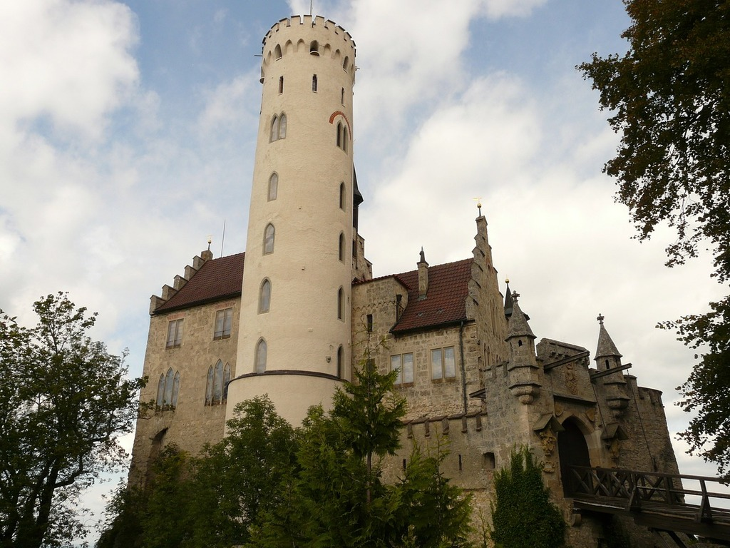 Lichtenstein castle knight's castle.