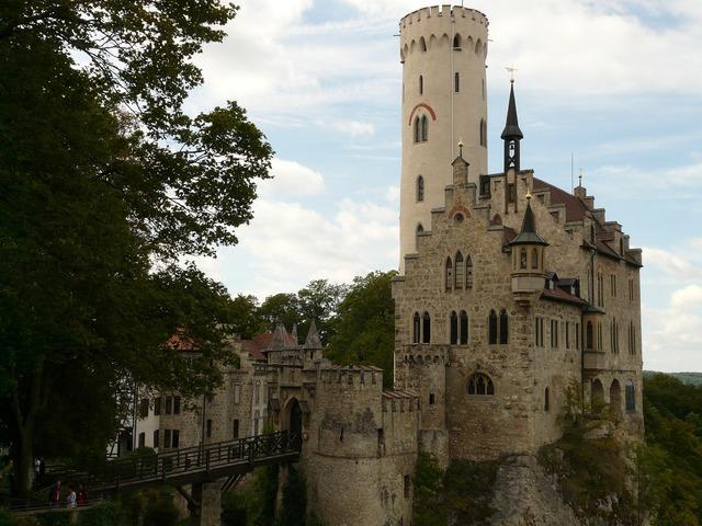 Lichtenstein castle knight's castle.