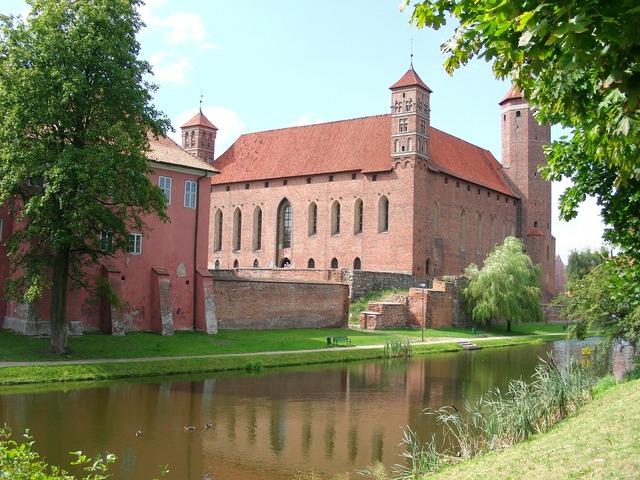 Lidzbark warmia castle architecture, architecture buildings.