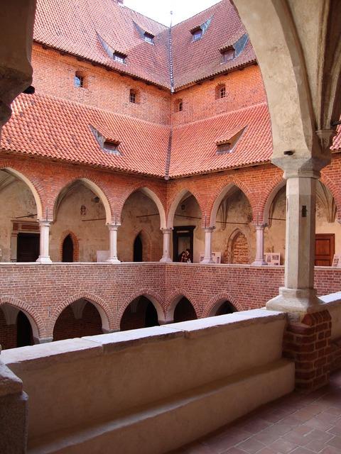 Lidzbark warmia poland castle, architecture buildings.