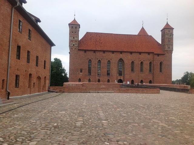 Lidzbark warminski poland castle.