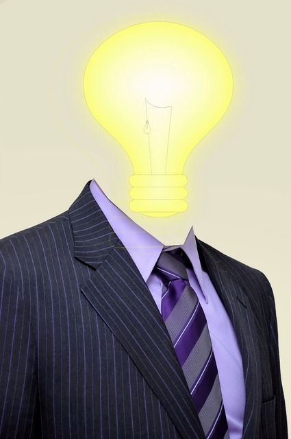 Light businessman idea, backgrounds textures.
