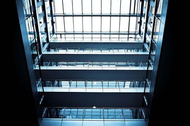 Light shaft floors architecture, architecture buildings.