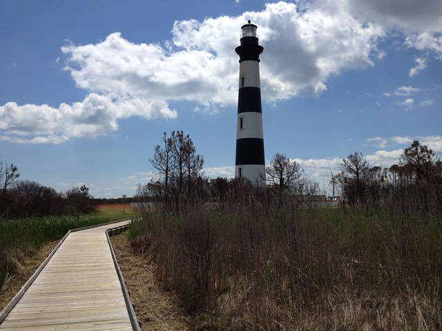 Lighthouse bodie island north carolina, places monuments.